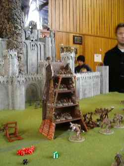 Minas Tirith in action at NWA Games 2005