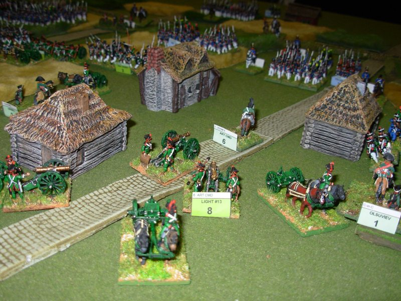 An Iron Duke Napoleonic battle in progress at NWA